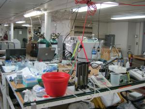 main lab setup
